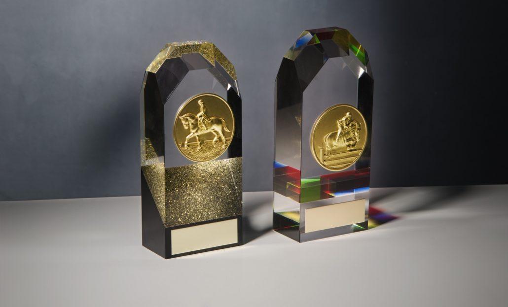 Trofeos de Cristal óptico en forma de Torre