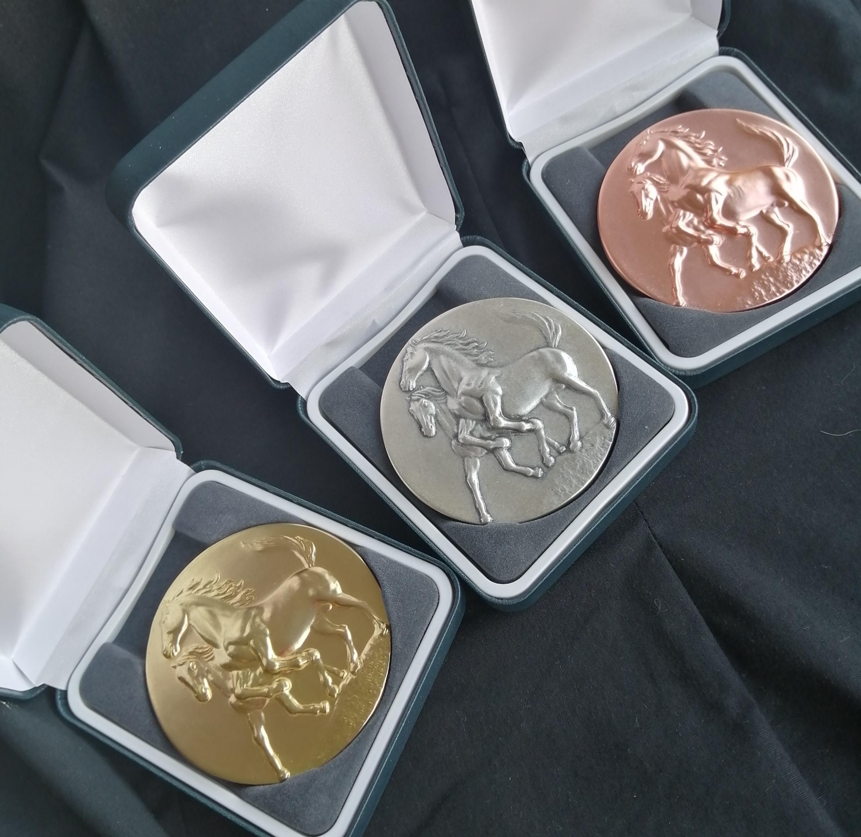 Brass Horses Medals